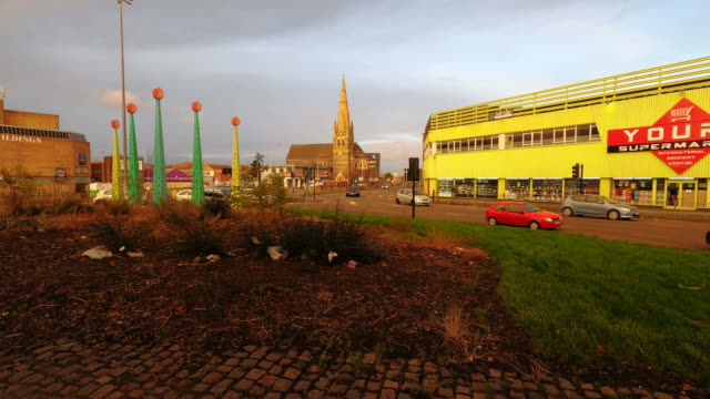 leicester st. marks church - leicester stock videos & royalty-free footage