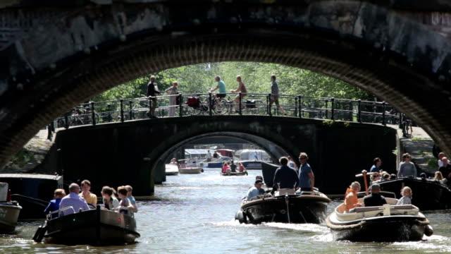 leidsegracht canal - kanal bildbanksvideor och videomaterial från bakom kulisserna