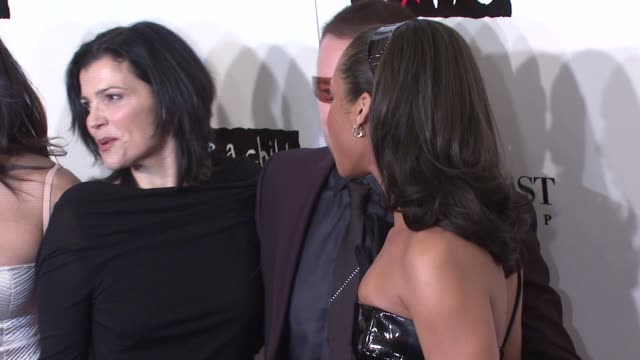 leigh blake, padma lakshmi, bono, alicia keys, and guests at the conde nast media group presents the 4th annual 'black ball' concert for 'keep a... - conde nast media group stock videos & royalty-free footage