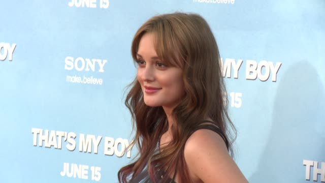 Leighton Meester at 'That's My Boy' Los Angeles Premiere Leighton Meester at Regency Village Theatre on June 04 2012 in Westwood California