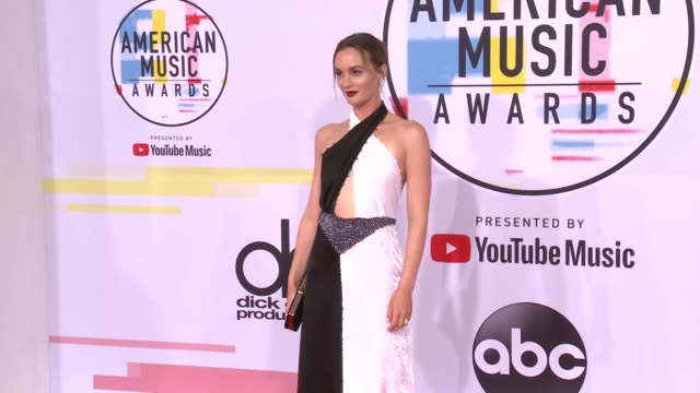 Leighton Meester at the 2018 American Music Awards at Microsoft Theater on October 09 2018 in Los Angeles California