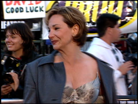 Leila Kenzle at the Premiere of 'The X Files Fight the Future' on June 11 1998