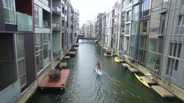 leisure in the capital - copenhagen stock videos & royalty-free footage