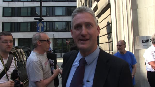 lembit opik declares his intention to run as the liberal democrat candidate for mayor and highlights some of his views and intentions should he win... - bbc radio stock videos & royalty-free footage