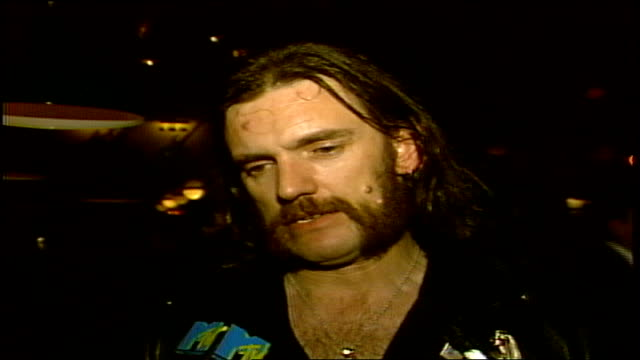 Lemmy Kilmister of Motorhead is talking about the VMAs which awards he wants and his experience at the party