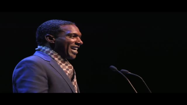 lemn sissay reading from william shakespeare's sonnet 25, live at world book night. lemn sissay is an author, broadcaster and playwright. a hibrow... - scriptwriter stock videos & royalty-free footage