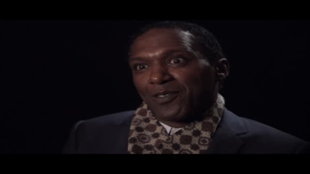 lemn sissay—author, broadcaster and playwright—is interviewed at world book night 2012. in this clip he talks about grammar and punctuation... a... - 脚本家点の映像素材/bロール