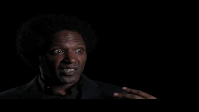 lemn sissay—author, broadcaster and playwright—is interviewed at world book night. in this clip he discusses whether or not he always finds writing... - scriptwriter stock videos & royalty-free footage
