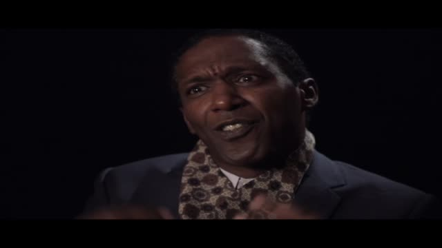 lemn sissay—author, broadcaster and playwright—is interviewed at world book night 2012. in this clip he talks about discipline and whether or not... - scriptwriter stock videos & royalty-free footage