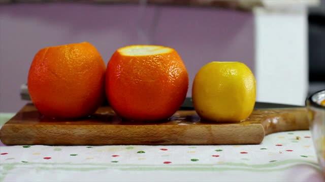 vídeos y material grabado en eventos de stock de limón, naranja y - vitamina c