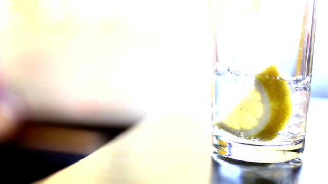 レモンのソーダ
