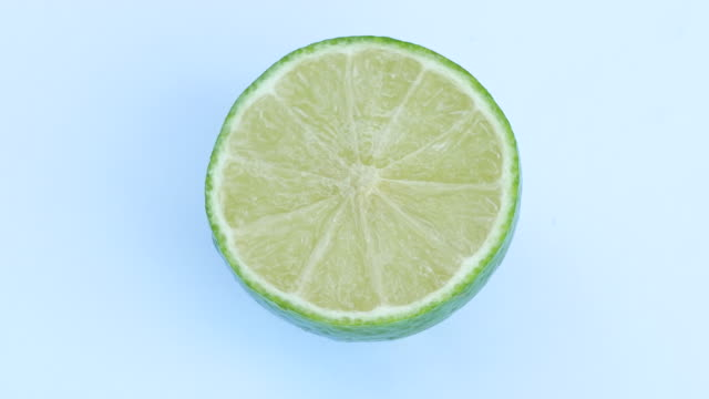 lemon rotate on white background - cross section stock videos & royalty-free footage