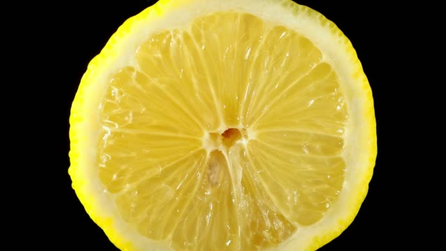 lemon slice close-up - juicy stock videos & royalty-free footage