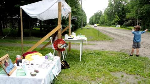 lemonade stand - vendor stock videos & royalty-free footage