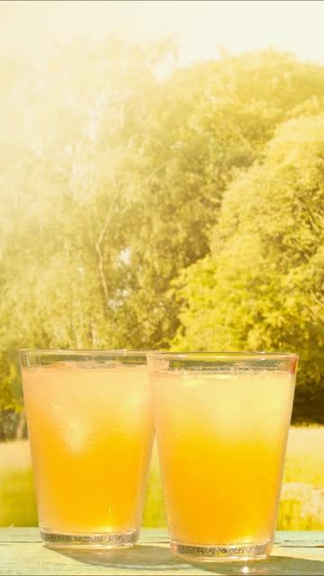 lemonade swirling in glass - still life stock videos & royalty-free footage