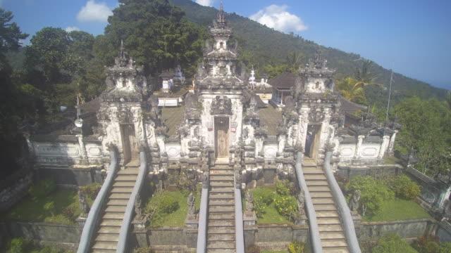 lempuyang temple bali - hinduism stock videos & royalty-free footage