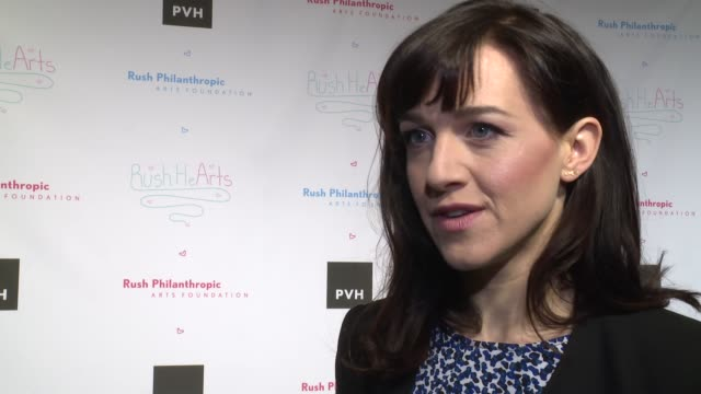 vídeos y material grabado en eventos de stock de interview lena hall on how the arts have helped her at russell simmons' rush philanthropic arts foundation's annual rush hearts education luncheon at... - russell simmons