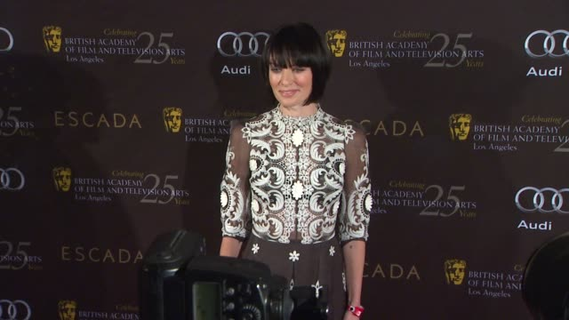 lena headey at bafta los angeles 18th annual awards season tea party on 1/14/2012 in beverly hills ca - tea party stock videos and b-roll footage