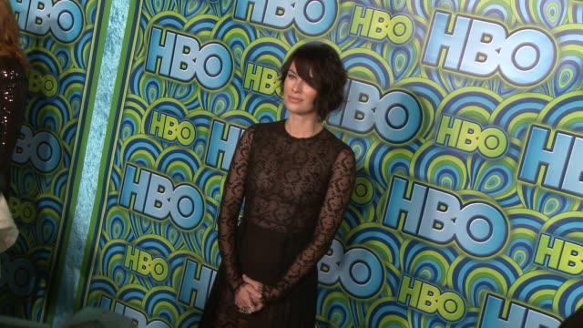 vídeos y material grabado en eventos de stock de lena headey at hbo's post 65th primetime emmy awards reception on 9/22/2013 in los angeles ca - translúcido