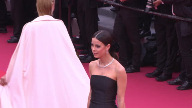 Lena MeyerLandrut at Blackkklansmann Red Carpet Arrivals The 71st Cannes Film Festival at Grand Theatre Lumiere on May 14 2018 in Cannes France