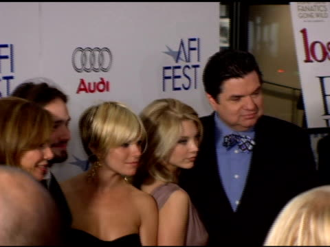 lena olin charlie cox sienna miller natalie dormer and oliver platt at the afi fest 2005 presented by audi closing night gala of 'casanova' at... - oliver platt stock videos & royalty-free footage