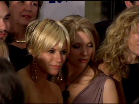lena olin sienna miller and natalie dormer at the afi fest 2005 presented by audi closing night gala of 'casanova' at arclight cinemas in hollywood... - dormer stock videos and b-roll footage