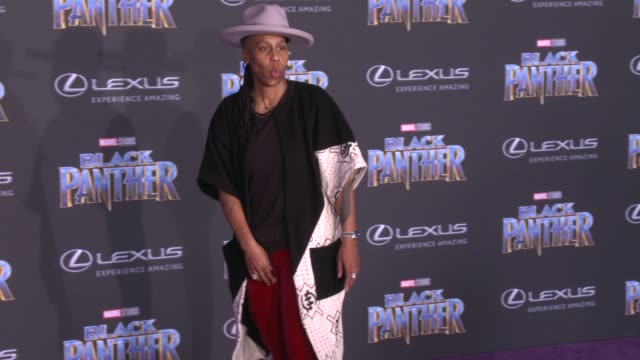 Lena Waithe at the Marvel Studios' 'Black Panther' World Premiere at Dolby Theatre on January 29 2018 in Hollywood California