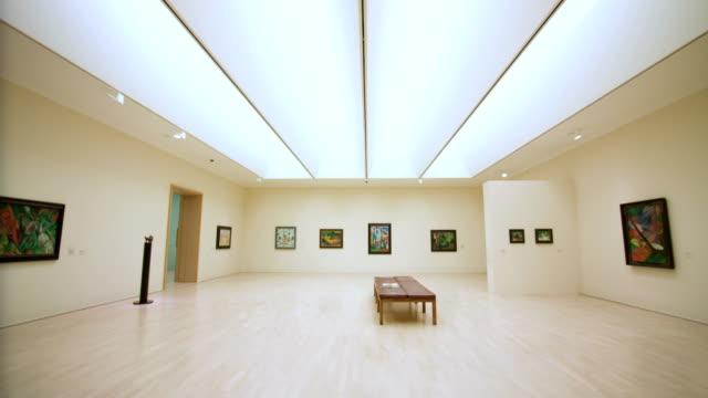 lenbachhaus, munich - art gallery stock videos & royalty-free footage