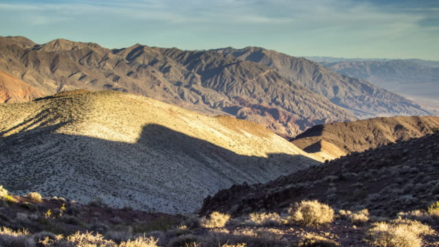 lengthening shadows in desert hills - time lapse - dolly shot stock videos & royalty-free footage
