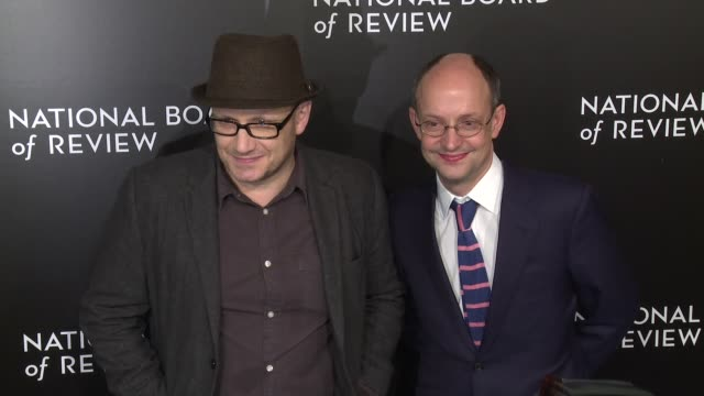 lenny abrahamson and guest at the national board of review gala honoring the 2015 award winners at cipriani 42nd street on january 05 2016 in new... - lenny abrahamson stock videos and b-roll footage