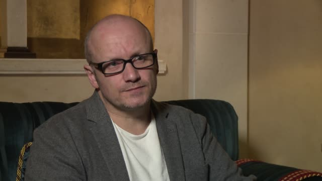 interview lenny abrahamson on attending diff for the first time how the audience reacted to his presence and how his film room came about at 2016... - lenny abrahamson stock videos and b-roll footage
