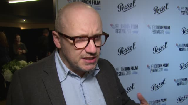 lenny abrahamson on choosing a winner and the film industry on october 20 2018 in london england - lenny abrahamson stock videos and b-roll footage