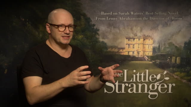 interview lenny abrahamson on how he approaches projects after winning an oscar at 'the little stranger' interviews at on september 14 2018 in london... - lenny abrahamson stock videos and b-roll footage