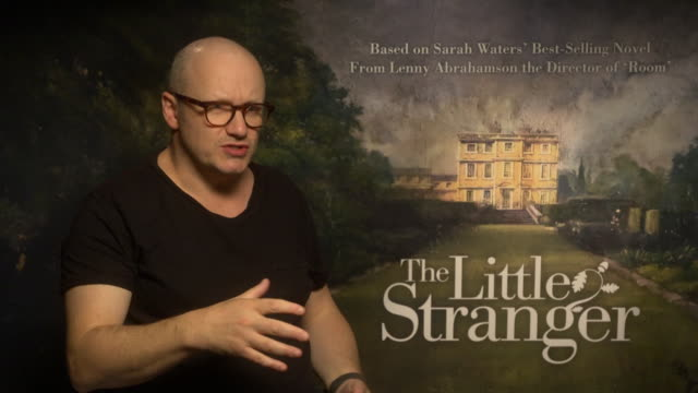 interview lenny abrahamson on life after winning an oscar and how he approaches projects at 'the little stranger' interviews at on september 14 2018... - lenny abrahamson stock videos and b-roll footage