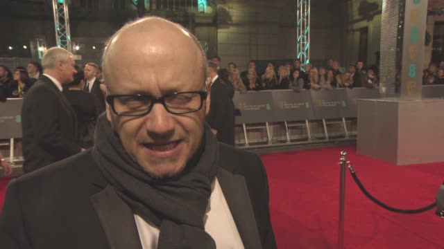 interview lenny abrahamson on the 'room' not being able to prodict the success of the film taking from the book to a film script brie larson at the... - lenny abrahamson stock videos and b-roll footage