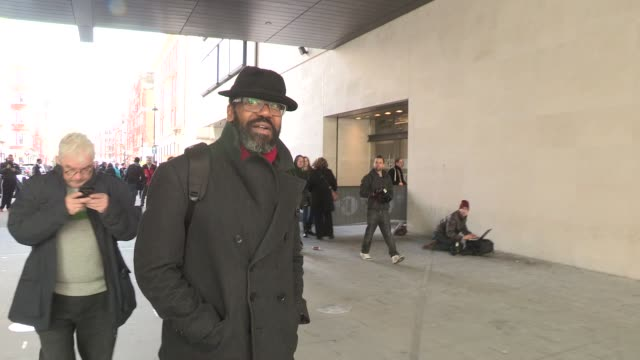 lenny henry at comic relief celebrity sightings at bbc radio one on march 14, 2013 in london, england - lenny henry stock videos & royalty-free footage