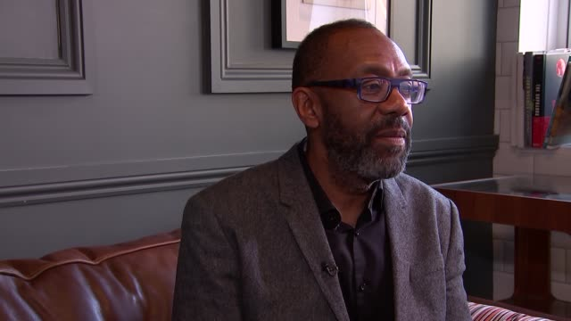 vídeos de stock e filmes b-roll de lenny henry interview; england: london: int sir lenny henry interview sot part 2 of 2 - lenny henry