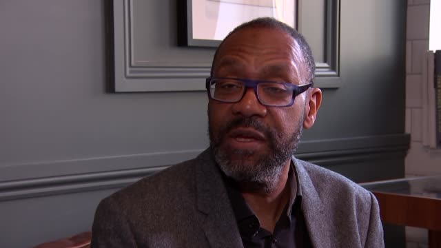 vídeos de stock e filmes b-roll de lenny henry interview; england: london: int sir lenny henry interview sot part 1 of 2 - lenny henry