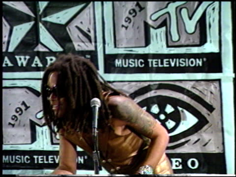 Lenny Kravitz at the 1991 MTV Awards at Universal Amphitheatre in Universal City California on January 1 1991