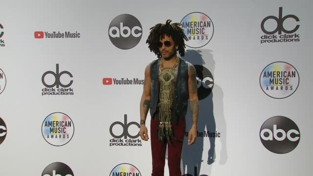 Lenny Kravitz at the 2018 American Music Awards at Microsoft Theater on October 09 2018 in Los Angeles California