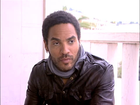 lenny kravitz talks about loving lee daniels work and what made him want to get involved with the movie at the cannes film festival 2009: precious... - precious gem stock videos & royalty-free footage