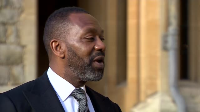lenry henry receives knighthood; ext sir lenny henry interview sot - this was not on the cards for me - lenny henry stock videos & royalty-free footage