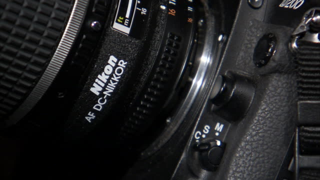 ECU Lens being connected to digital camera