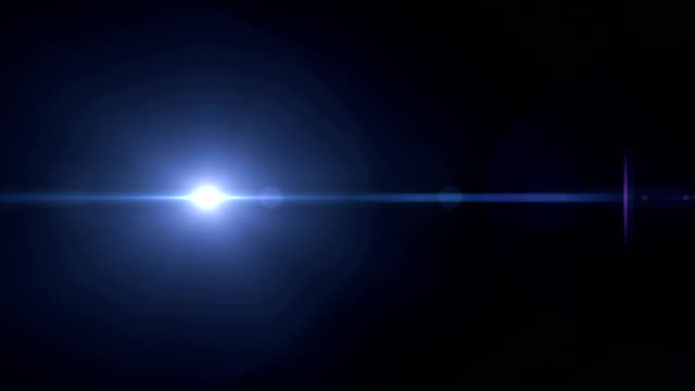 lens flare - 4k resolution - black background stock videos & royalty-free footage