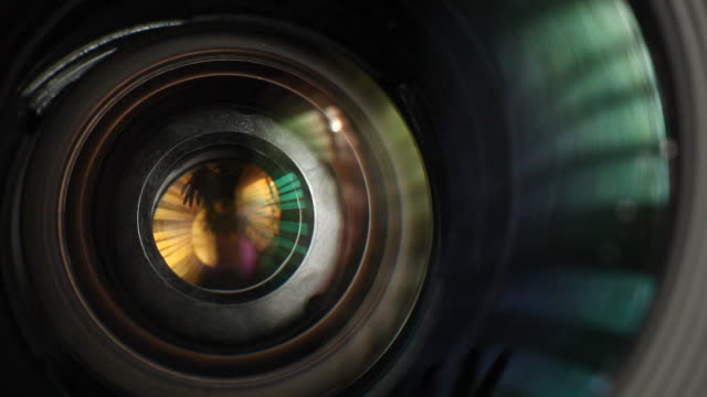 lens operation - camera photographic equipment stock videos and b-roll footage