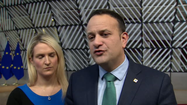 Leo Varadkar saying himself and other EU leaders are happy to discuss any concerns over the Brexit deal with Theresa May but the withdrawal agreement...
