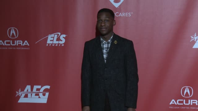 Leon Bridges at MusiCares Person of the Year Honoring Tom Petty in Los Angeles CA