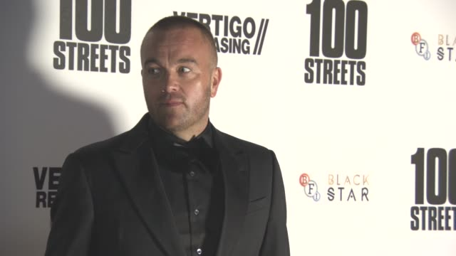 leon f butler at '100 streets' - uk film premiere at bfi southbank on november 08, 2016 in london, england. - bfi southbank stock videos & royalty-free footage