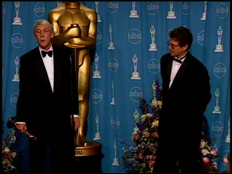 leon gast at the 1997 academy awards governor's ball at the shrine auditorium in los angeles california on march 24 1997 - 69th annual academy awards stock videos and b-roll footage