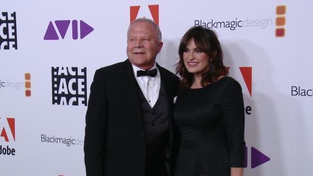 Leon OrtizGil Mariska Hargitay at 68th Annual ACE Eddie Awards in Los Angeles CA